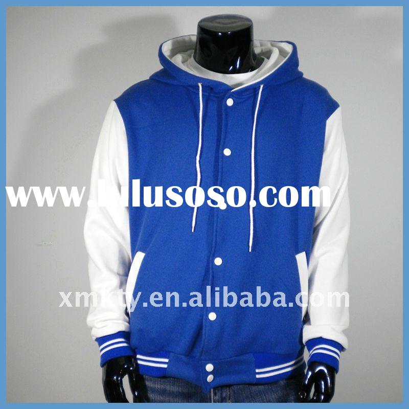 Fashion men hoodie baseball jacket