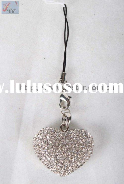 Fashion promotion mobile phone chain in gift