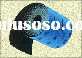 Flexible aluminium oxide abrasive cloth roll
