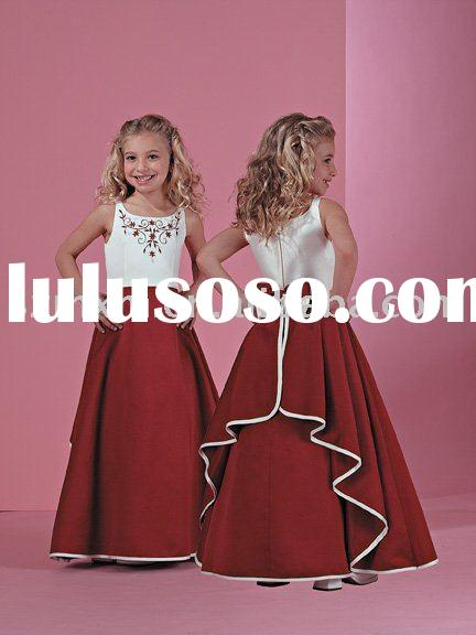 Flower girl dress FG066/party dress/kids dress