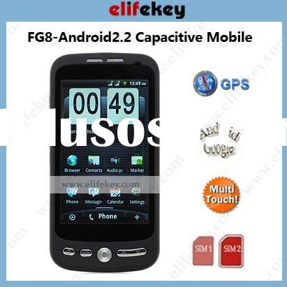 Flying FG8 dual-sim Capacitive android 2.2 smart phone android cell phone dual camera