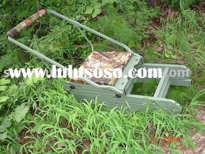 Folding aluminum hunting tree stand/Hunting tree seat/Hunting ladder stand