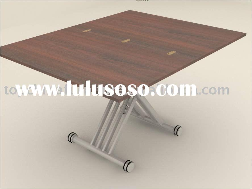 Folding dining table (height adjustable)