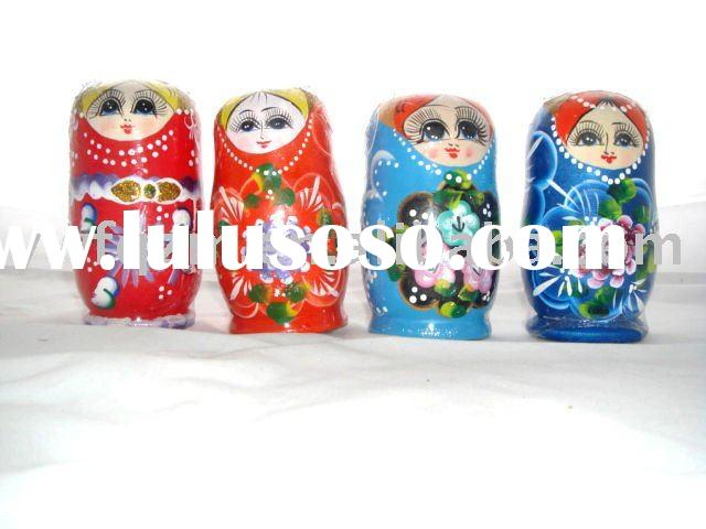 Folk Art Craft Russia Doll