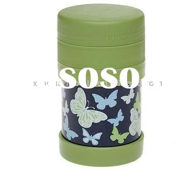 Food Storage Container Stainless steel containers with plastic lid and base are BPA- and phthalate-f