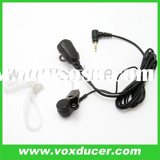 For Motorola XTR446 MJ270R two way radio accessory Acoustic tube headset