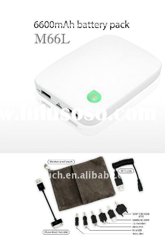 For iPad 2 parts portable battery charger