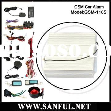 GSM Car Alarm With Remote Starter F-118S