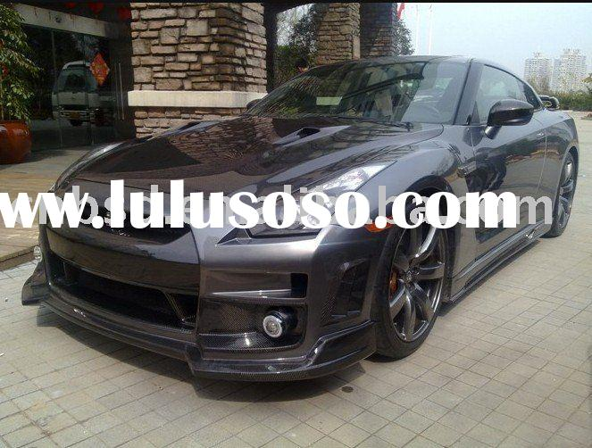 GTR R35 CAR BODY KITS / AUTO BODY KIT / BUMPER FRP / GTR R35 / CARBON FIBER BUMPER/ FOR NISSAN