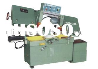 Gear Drived Horizontal Metal Band Saw Machine / gear drived band saw