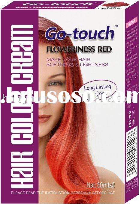 Go Touch Hair Color Cream,Hair Dye Color,Hair Elastin Lotion