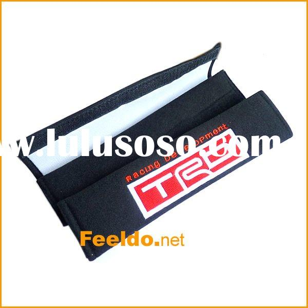 Good material Whosale Car Truck Seat Belt Cover for TRD(FD-SBC-TRD)