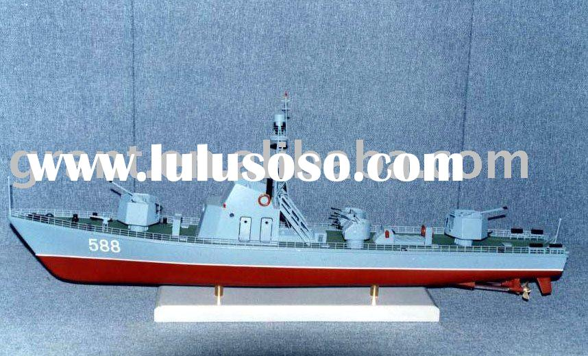 Gunboat model/gunvessel model/icebreaker boat model/model escort vessel model/moto torpedo boat mode