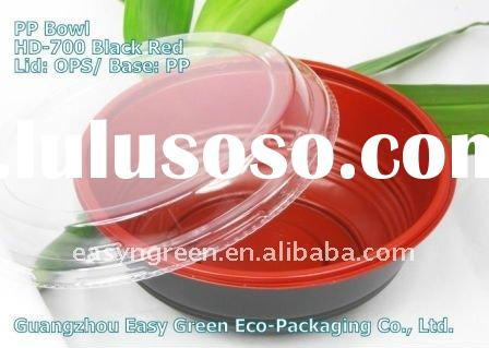 HOT! Newest Disposable and Microwaveable Plastic Soup Bowl HD-700