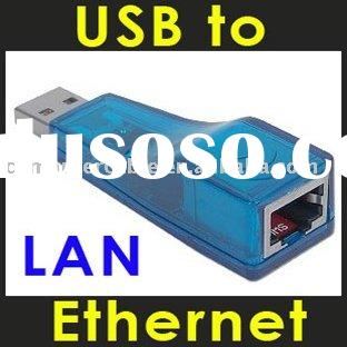 HOT SELL Fast Ethernet USB to LAN Adapter RJ45 Shielded Adaptor