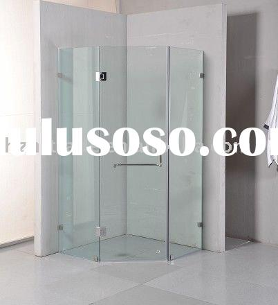 HTSE-87B43A 10mm Aust standard adjustable frameless glass shower screen door