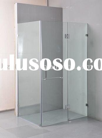 HTSE-87B44 10mm Aust standard adjustable frameless glass shower door