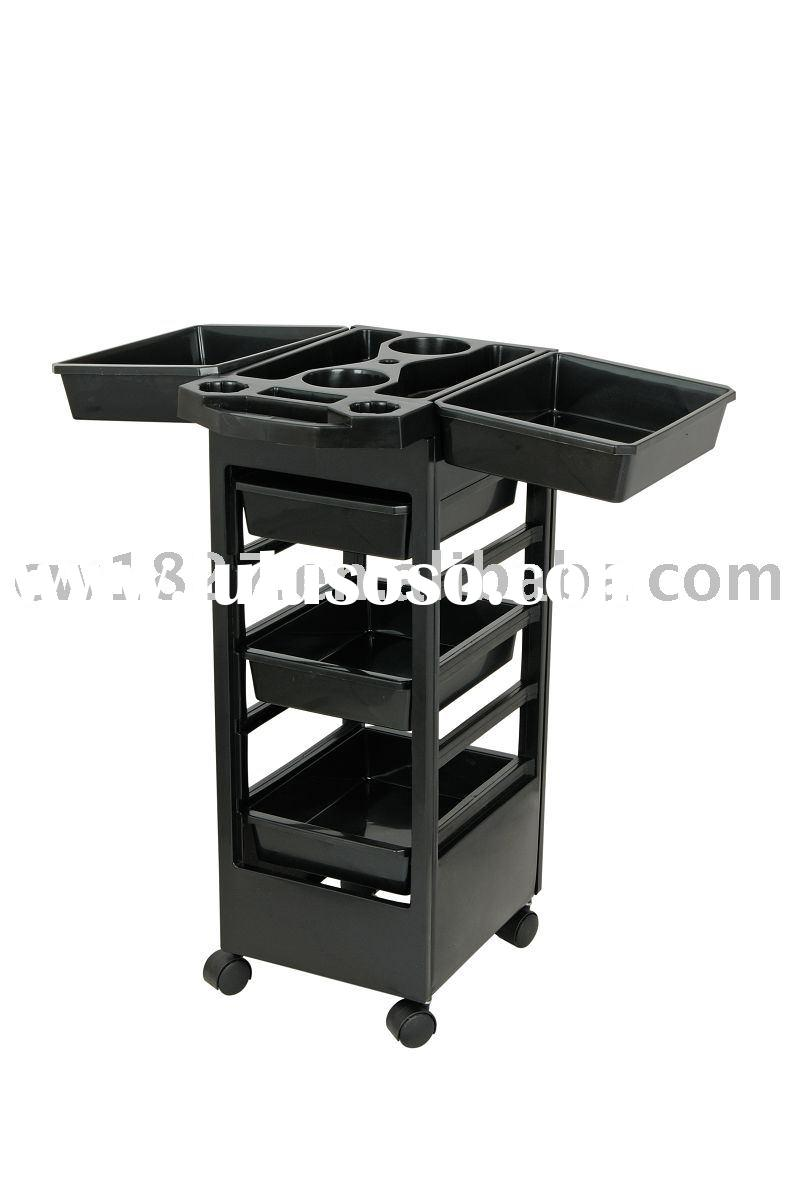 Hair salon trolley(salon tool vehicle,hair beauty equipment)