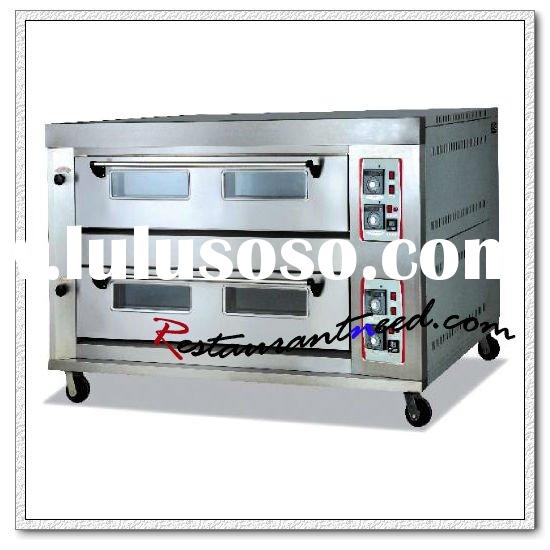 Heavy Duty Two Layers Commercial Gas Deck Pizza Oven