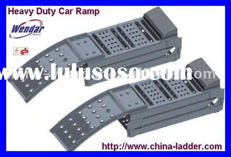 Heavy duty car ramp