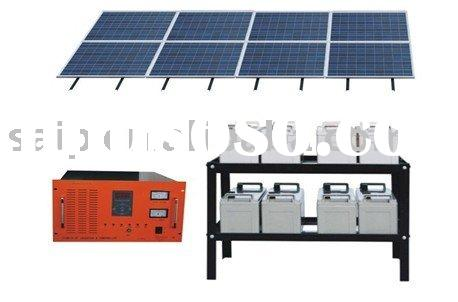 High Power solar energy system 5000W,portable solar power system