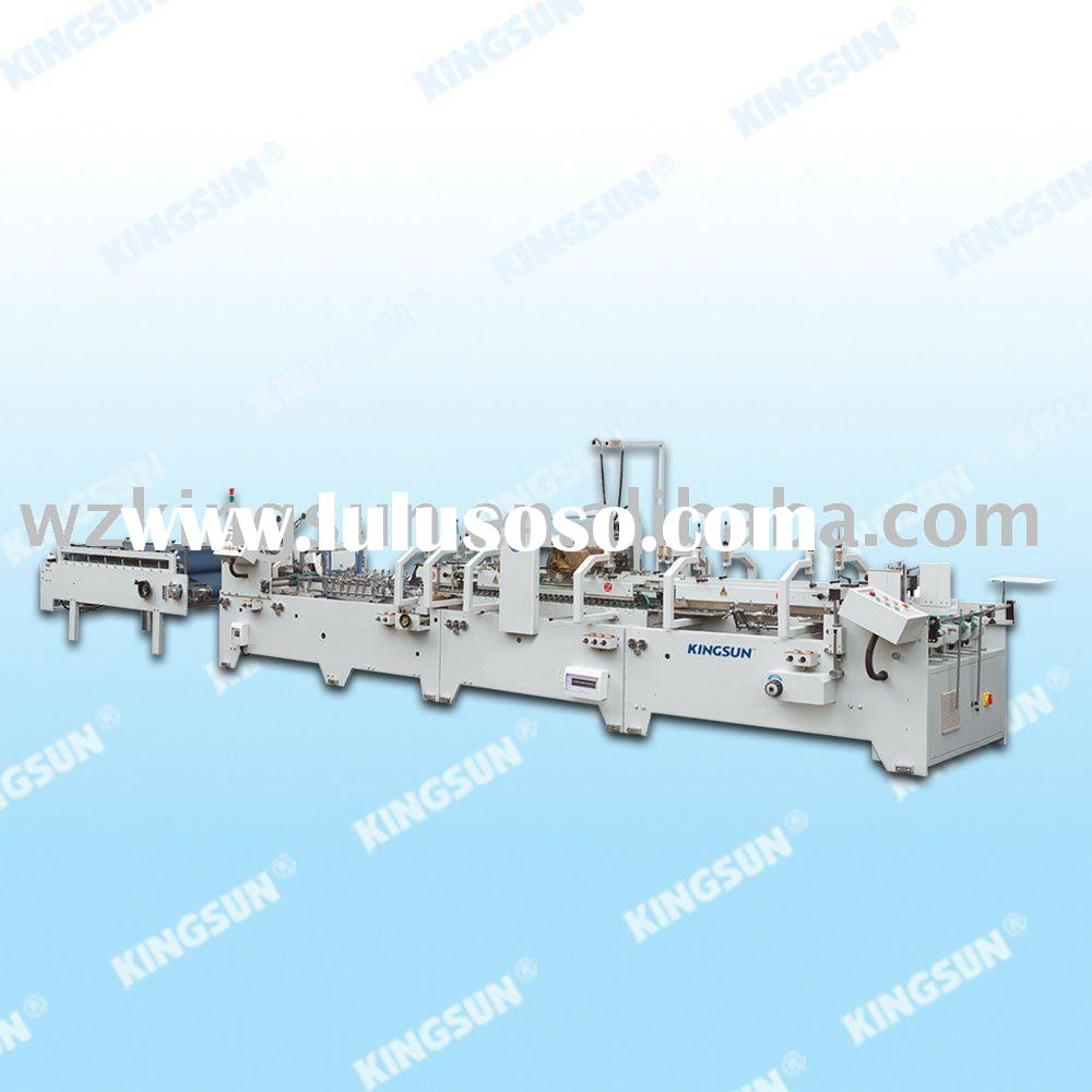 High Speed Automatic Folder Gluer with Crash-Lock Bottom(carton folder gluer)