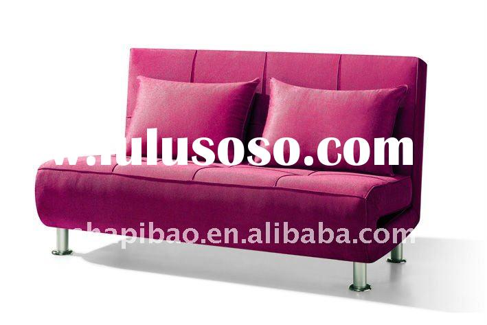 Hot sale pink color convertible sofa bed chairs furniture