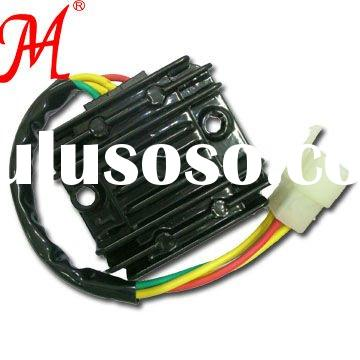 Hot sell high quality Motorcycle parts two phase rectifier regulator GY6-125 with 4 wire