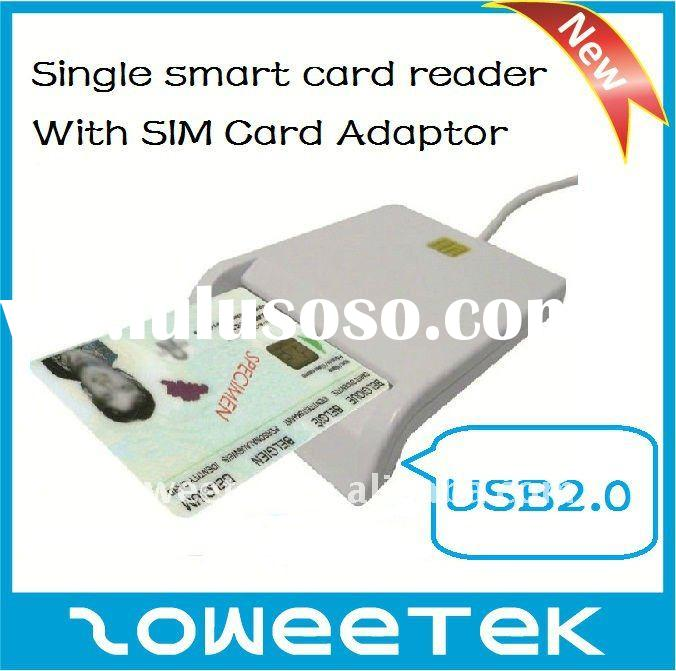 Hot selling USB Single ID/Smart Card Reader for ID Card,ATM