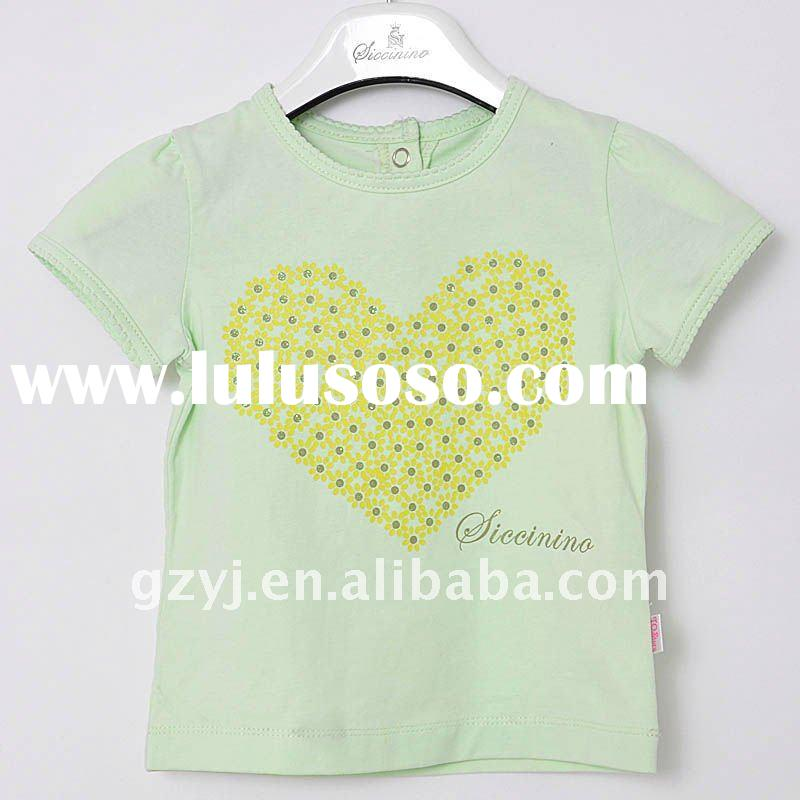 Hot t shirt/kids wear/children frocks