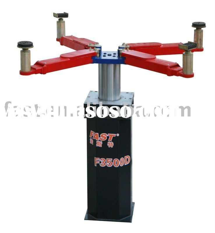 Hydraulic Single Post Underground Car Lift with Pneumatic Locks