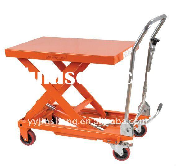 Hydraulic scissor lift table TF50A