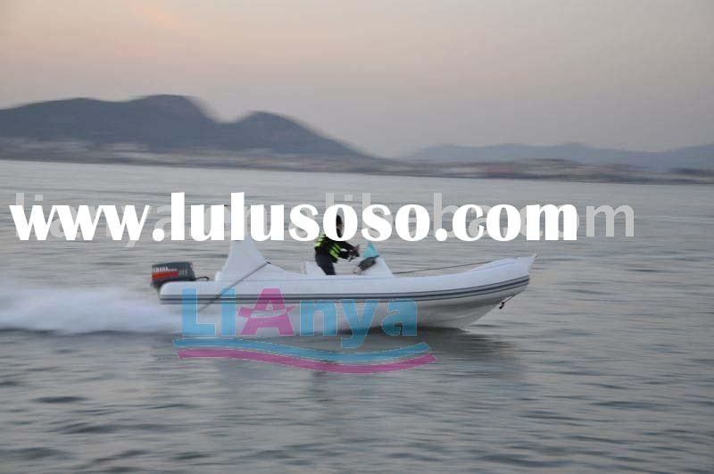 Hypalon boat 5.8m new rib boat with hypalon fabric