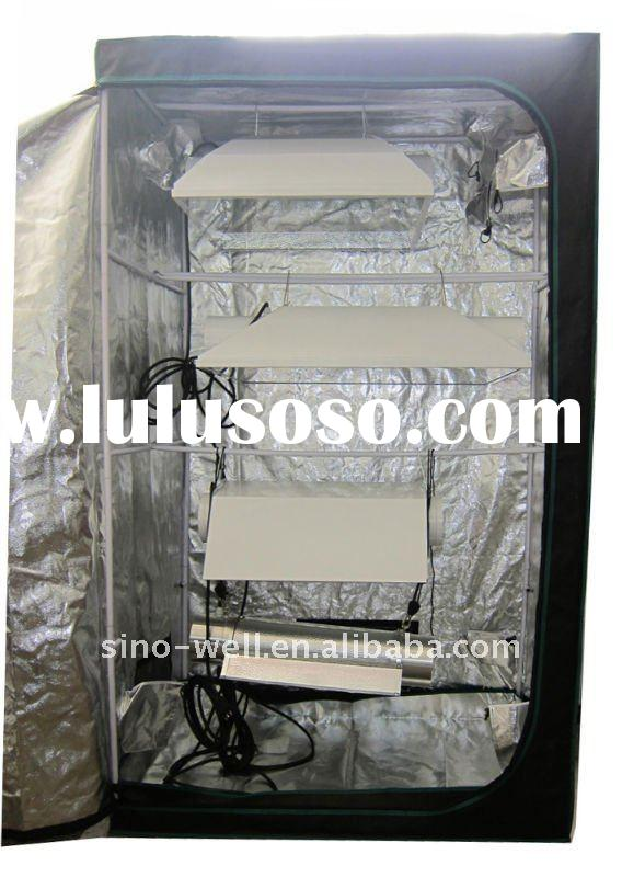 INDOOR GROW TENTS 600D MYLAR HYDRO HUT 5' x 5'