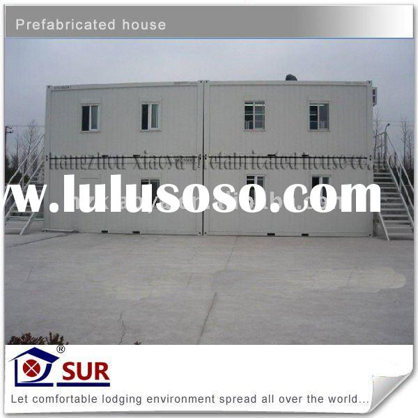 ISO 9001:2008 Certficated shipping container homes