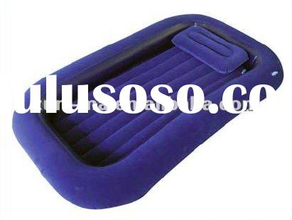 Inflatable air bed with border goog for camping