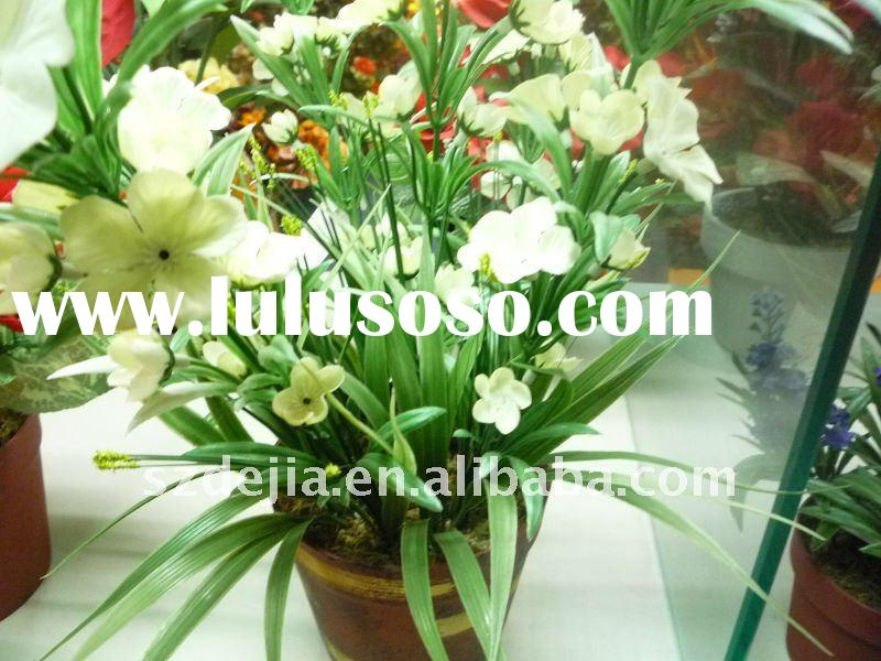 Inquire now Decorative Flower Pot Holders- Artificial Flower decorative,real touch flower,(