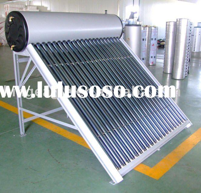 Integrated Unpressurized Solar Water Heaters, Calentadores Solares, Renewable Energy
