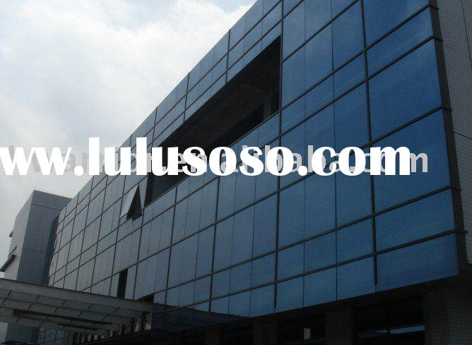 Kejing Office Building Glass Curtain Wall, Aluminum Plastic Board Curtain Wall, Glass Steel Structur