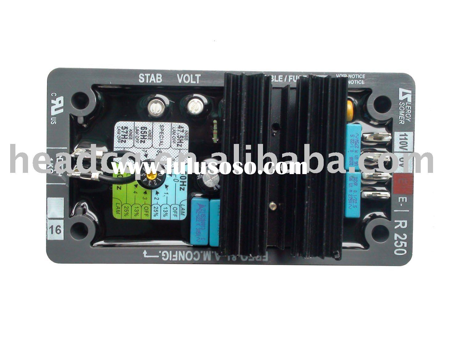 LEROY SOMER AVR, auto voltage regulator R250