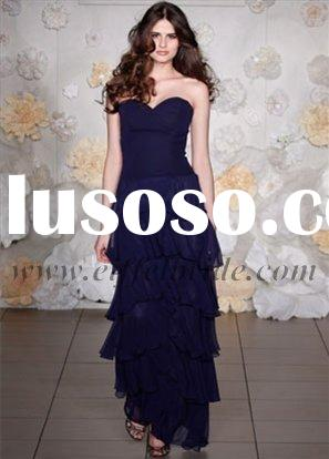 LZ-3018 strapless evening dress, formal evening gown,ladies' dresses,2009 new style evening