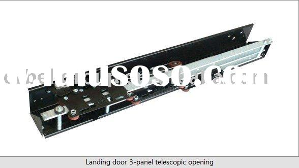 Landing door 3-panel telescopic opening,elevator door operator