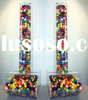 Large candy dispenser with acrylic tube (FD-A-0144)