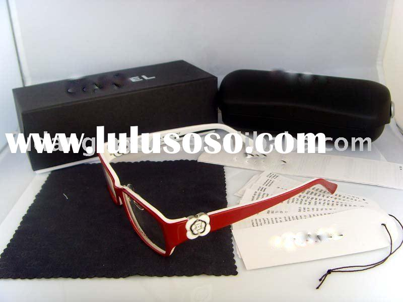 Latest Brand name CN3131 red mix white eyeglasses Glasses frames Acetate Designer Wholesale