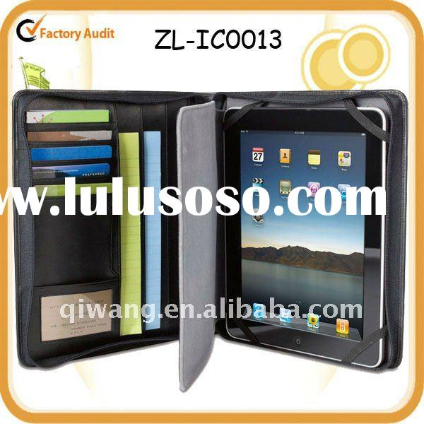 Leather Portfolio for iPad & iPad 2 Case