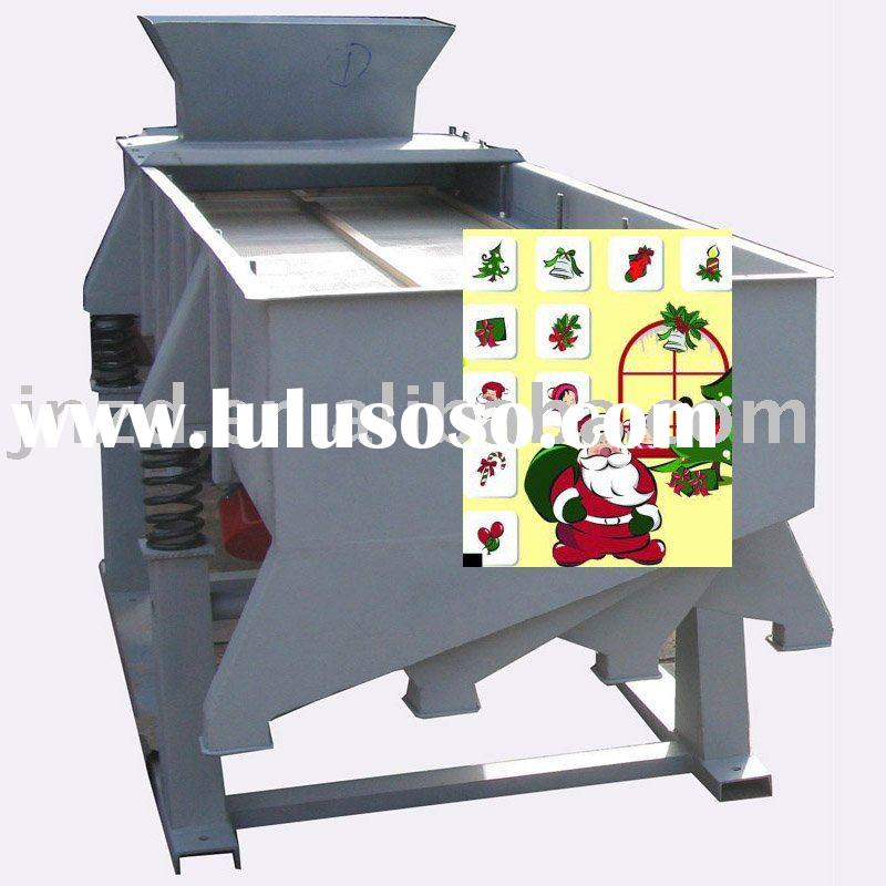 Linear Vibrating Screen For Sawdust Briquettes