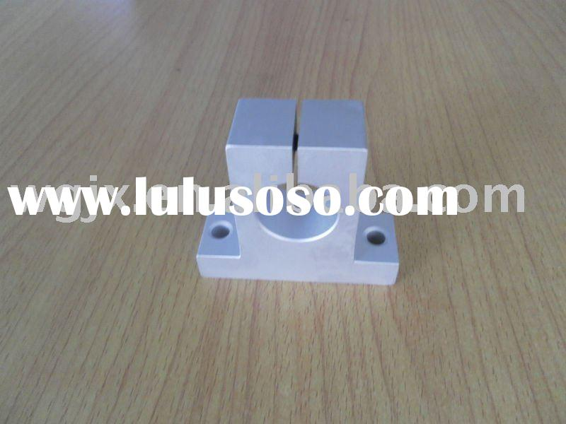 Linear shaft support bearing