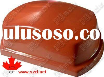 Liquid silicone rubber for pad printing on plastic toys