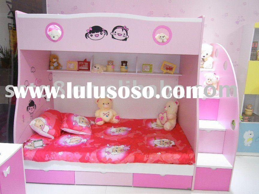 Lovely kid's bunk bed 1003