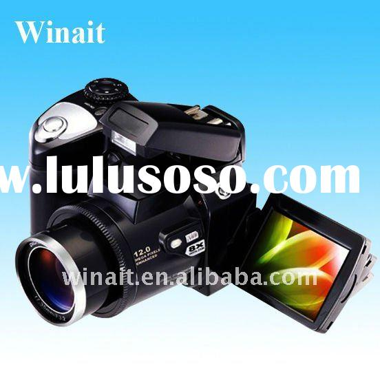 "MAX.12MP 5-in-1 Multi Function digital camera with 2.4""LTPS LCD, LED Spot Light"